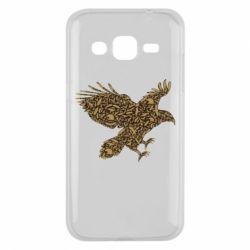Чехол для Samsung J2 2015 Eagle feather