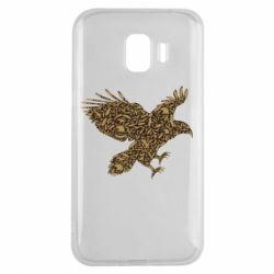 Чехол для Samsung J2 2018 Eagle feather