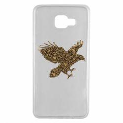 Чехол для Samsung A7 2016 Eagle feather