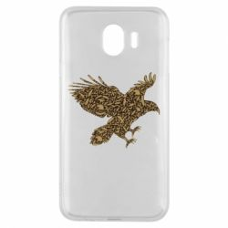 Чехол для Samsung J4 Eagle feather