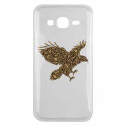 Чехол для Samsung J5 2015 Eagle feather