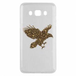 Чехол для Samsung J5 2016 Eagle feather