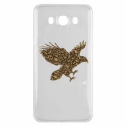 Чехол для Samsung J7 2016 Eagle feather