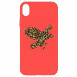 Чехол для iPhone XR Eagle feather