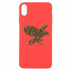 Чехол для iPhone Xs Max Eagle feather