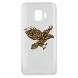 Чехол для Samsung J2 Core Eagle feather