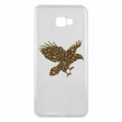 Чехол для Samsung J4 Plus 2018 Eagle feather