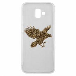 Чехол для Samsung J6 Plus 2018 Eagle feather