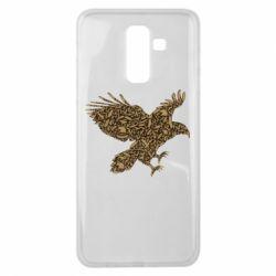 Чехол для Samsung J8 2018 Eagle feather