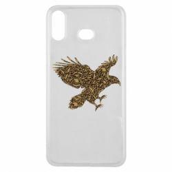 Чехол для Samsung A6s Eagle feather