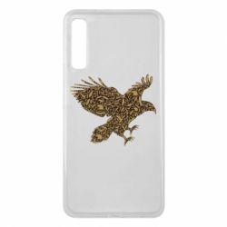 Чехол для Samsung A7 2018 Eagle feather