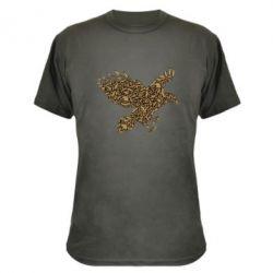 Камуфляжная футболка Eagle feather