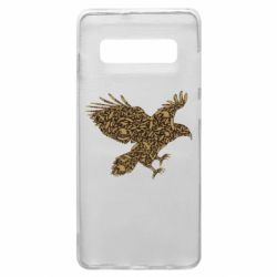 Чехол для Samsung S10+ Eagle feather