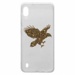 Чехол для Samsung A10 Eagle feather