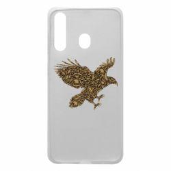 Чехол для Samsung A60 Eagle feather