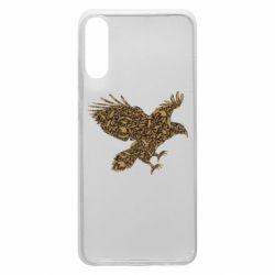 Чехол для Samsung A70 Eagle feather