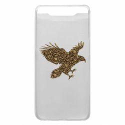 Чехол для Samsung A80 Eagle feather