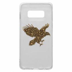 Чехол для Samsung S10e Eagle feather