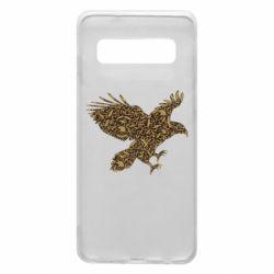 Чехол для Samsung S10 Eagle feather