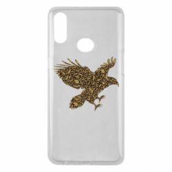 Чехол для Samsung A10s Eagle feather