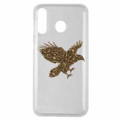 Чехол для Samsung M30 Eagle feather