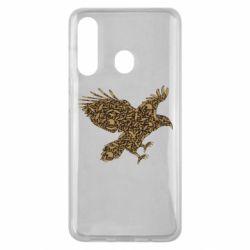 Чехол для Samsung M40 Eagle feather