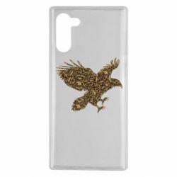 Чехол для Samsung Note 10 Eagle feather