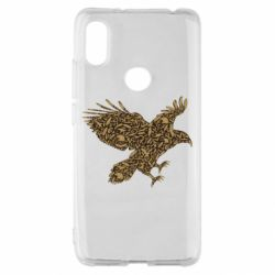 Чехол для Xiaomi Redmi S2 Eagle feather