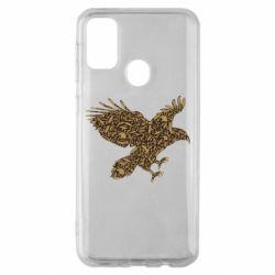 Чехол для Samsung M30s Eagle feather