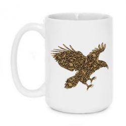 Кружка 420ml Eagle feather