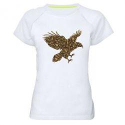 Женская спортивная футболка Eagle feather