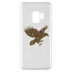 Чехол для Samsung S9 Eagle feather