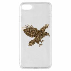 Чехол для iPhone 8 Eagle feather