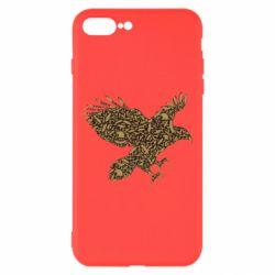 Чехол для iPhone 8 Plus Eagle feather