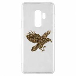 Чехол для Samsung S9+ Eagle feather