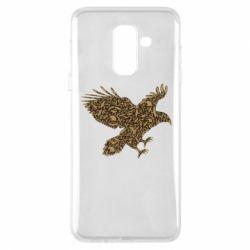 Чехол для Samsung A6+ 2018 Eagle feather
