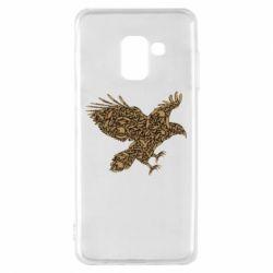 Чехол для Samsung A8 2018 Eagle feather