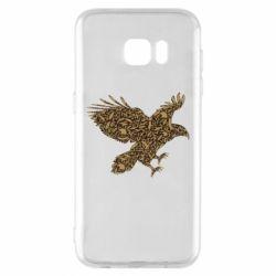 Чехол для Samsung S7 EDGE Eagle feather