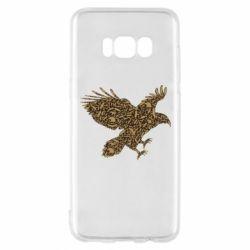 Чехол для Samsung S8 Eagle feather