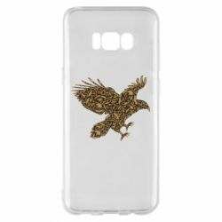 Чехол для Samsung S8+ Eagle feather