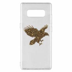 Чехол для Samsung Note 8 Eagle feather