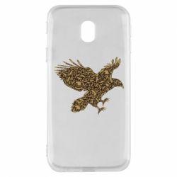 Чехол для Samsung J3 2017 Eagle feather