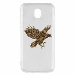 Чехол для Samsung J5 2017 Eagle feather