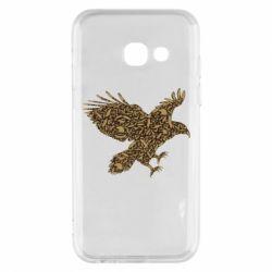 Чехол для Samsung A3 2017 Eagle feather