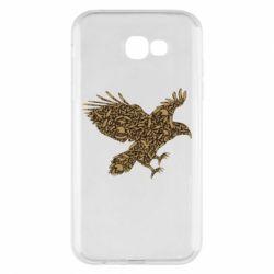 Чехол для Samsung A7 2017 Eagle feather