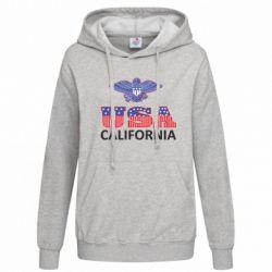Женская толстовка Eagle USA - FatLine