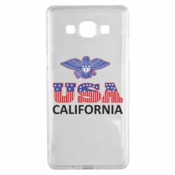 Чехол для Samsung A5 2015 Eagle USA