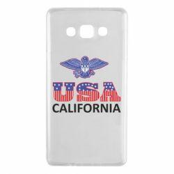 Чехол для Samsung A7 2015 Eagle USA