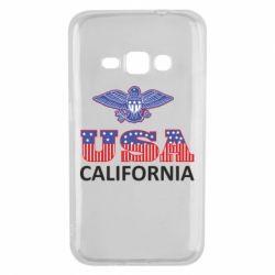 Чехол для Samsung J1 2016 Eagle USA