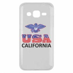 Чехол для Samsung J2 2015 Eagle USA